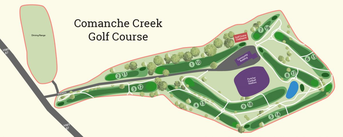 Comanche Creek GC Map-01